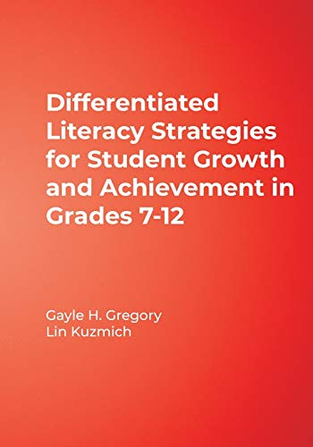 9780761988830: Differentiated Literacy Strategies for Student Growth and Achievement in Grades 7-12