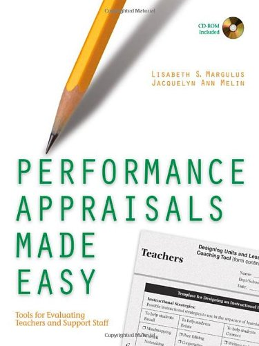 9780761988946: Performance Appraisals Made Easy: Tools for Evaluating Teachers and Support Staff