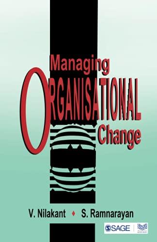 9780761992479: Managing Organisational Change