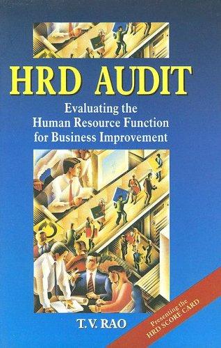 9780761993490: HRD Audit (Response Books)