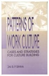 Patterns of Work Culture: Jai B P