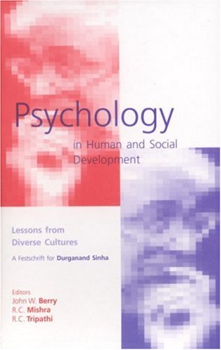 Psychology in human and social development; lessons: Ed. by John