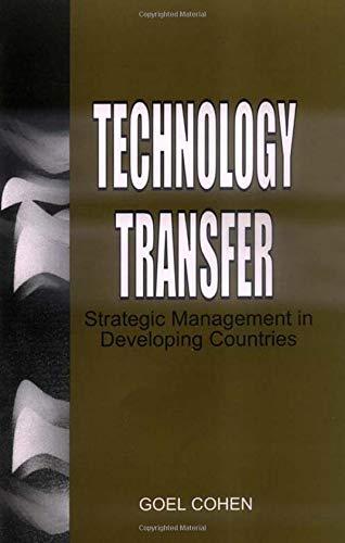 Technology Transfer: Cohen, Goel