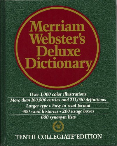 9780762103003: Dic Merriam Websters Deluxe Dictionary