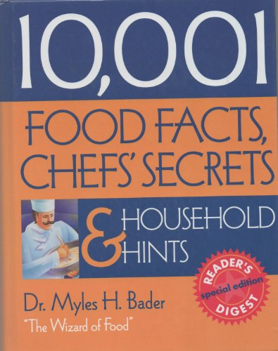9780762103010: 10,001 Food Facts, Chefs' Secrets, and Household Hints