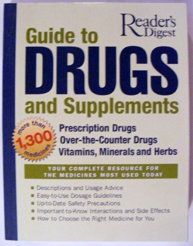 9780762105045: Reader's Digest Guide to Drugs and Supplements