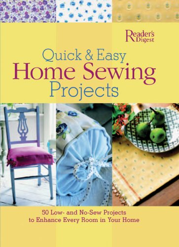 9780762105854: Quick and Easy Home Sewing Projects (Quick & Easy)