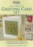 9780762106929: The Complete Greeting Card Set: Techniques, Equipment, and Projects for Making Beautiful Handmade Cards (Reader's Digest)