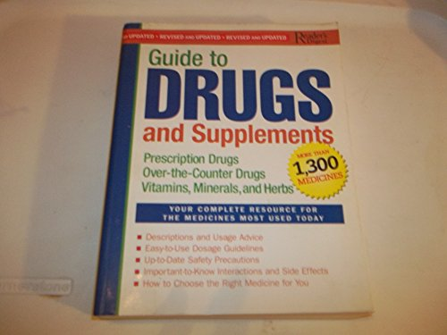 9780762107896: Reader's Digest Guide to Drugs and Supplements