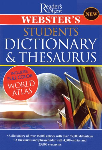 9780762108589: Webster's Student Dictionary & Thesaurus