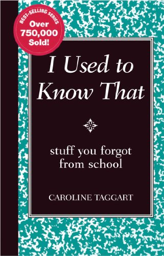 9780762109951: I Used to Know That: Stuff You Forgot From School (Blackboard Books)