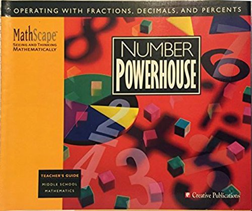 9780762202102: Number Powerhouse (MathScape, seeing and thinking mathematically, teacher's guide)