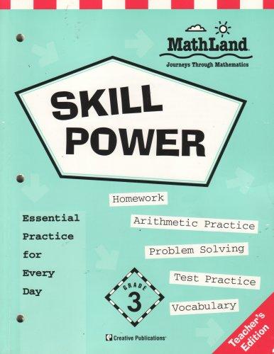 Skill Power Grade 3, Mathland Journeys Through: Linda Charles; Micaelia