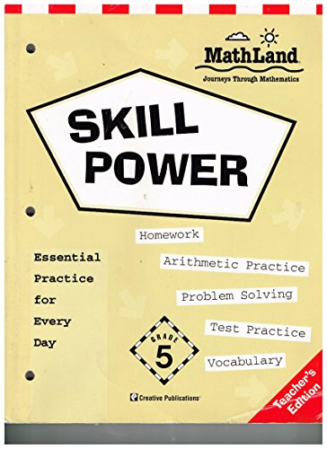 Skill Power (MathLand Journeys Through Mathematics, Grade: n/a