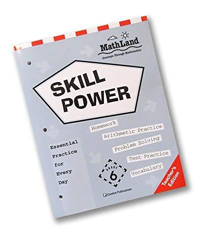 9780762204601: Mathland Skillpower Workbook/6th Grade/Teacher's Edition (Mathland: Journeys Through Mathematics, Grade 6)