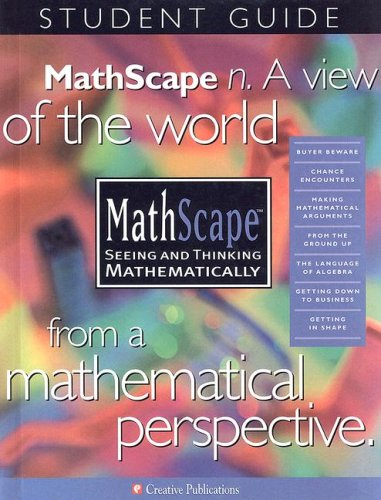 9780762205226: MathScape: Seeing and Thinking Mathematically, Grade 7, Consolidated Student Guide