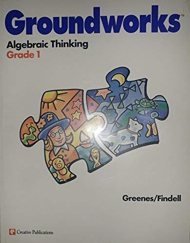9780762212057: Groundworks Algebraic Thinking Grade 1 (grade one, grade 1)