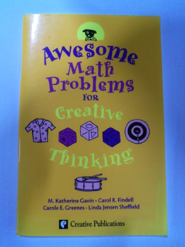 9780762212835: Awesome Math Problems for Creative Thinking, Grade 4