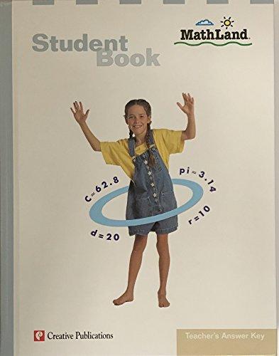 9780762213139: Mathland Student Book Answer Key Grade 6