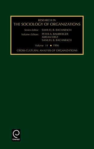 9780762300198: RES SOC ORG V14 (Research in the Sociology of Organizations)