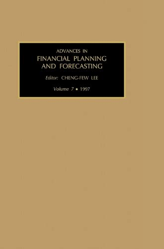 9780762301249: Advances in Financial Planning and Forecasting, Volume 7 (Advances in Financial Planning and Forecasting) (Advances in Financial Planning & Forecasting)