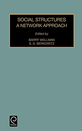 9780762302901: Social Structures: A Network Approach (Contemporary Studies in Sociology) (Advances in Medical Sociology)