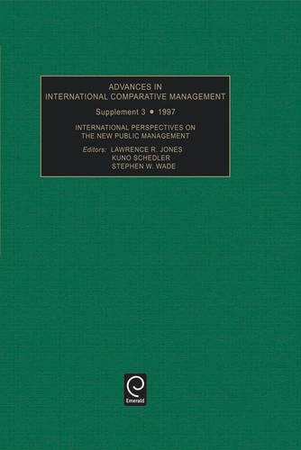 ADVANCES IN INTERNATIONAL COMPARATIVE MANAGEMENT SUPPLEMENT 3 199