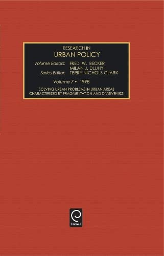 Solving Urban Problems in Urban Areas Characterized by Fragmentation and Divisiveness (Hardback)