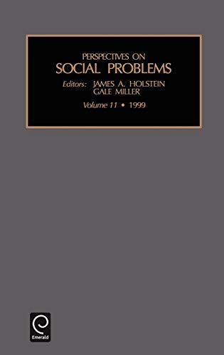 9780762304813: Perspectives on Social Problems, Volume 11 (Perspectives on Social Problems)