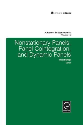 9780762306886: Nonstationary Panels, Panel Cointegration, and Dynamic Panels