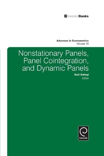 9780762306886: Nonstationary Panels, Panel Cointegration, and Dynamic Panels (Advances in Econometrics)