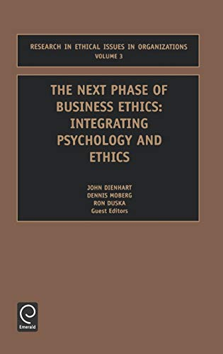 The Next Phase of Business Ethics (Research: Moses Pava, Pava,
