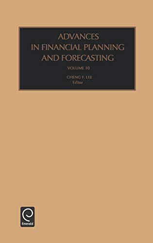 9780762308262: Advances in Financial Planning and Forecasting Volume 10 (Advances in Financial Planning and Forecasting) (Advances in Financial Planning & Forecasting S) (Vol 10)