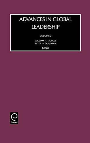 9780762308668: Advances in Global Leadership, Vol. 3 (Advances in Global Leadership) (Advances in Global Leadership)