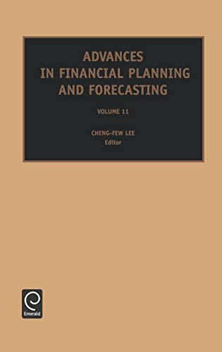 9780762310166: Advances in Financial Planning and Forecasting, Volume 11