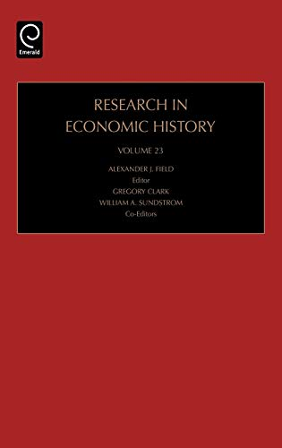 Research in Economic History: n/a