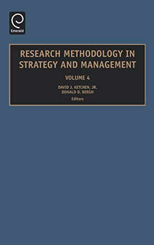 9780762314041: Research Methodology in Strategy and Management