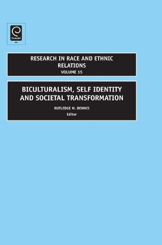 9780762314096: Bi-Culturalism, Self Identity and Societal Development (Research in Race & Ethnic Relations)