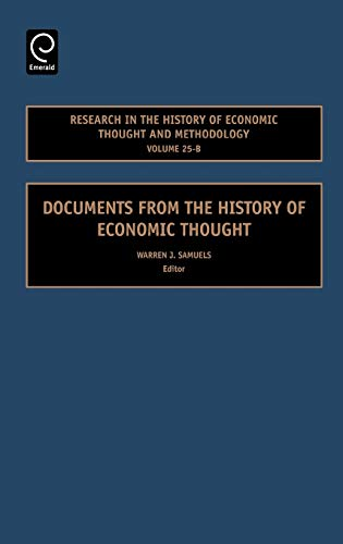 Documents From the History of Economic Thought: Samuels, Warren J. (ed)