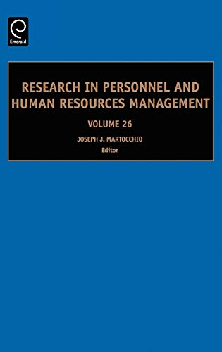 Research in Personnel and Human Resources Management: Joseph J. Martocchio