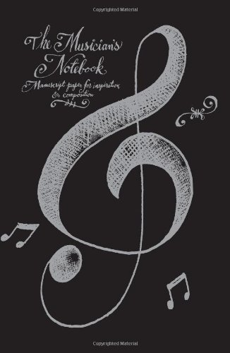 9780762403691: The Musician's Notebook: Manuscript Paper for Inspiration and Composition