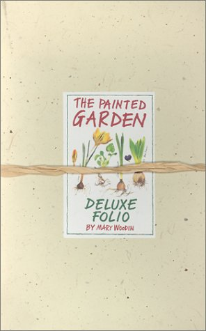 9780762404803: The Painted Garden Combination Portfolio with Sticker and Envelope and Other