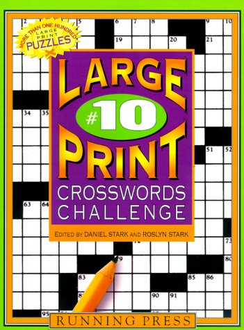 9780762405336: Xword Challenge#10 Lp (Large Print Crosswords Challenge)