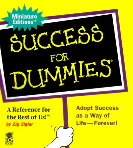 9780762407514: Success For Dummies (Miniature Editions for Dummies (Running Press))