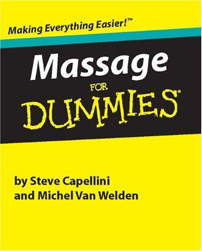 9780762408399: Massage for Dummies