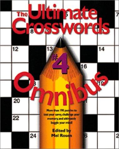 9780762408788: The Ultimate Crosswords Omnibus Volume 4 (Ultimate Crossword Omnibus) (Vol 4)