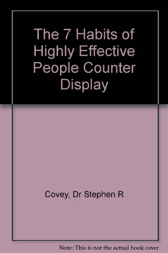 9780762408900: The 7 Habits of Highly Effective People Counter Display