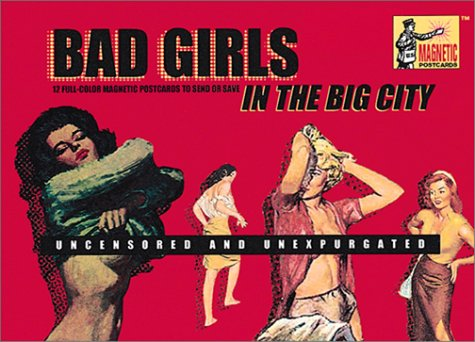 Bad Girls in the Big City: 12 Full-Color Magnetic Postcards