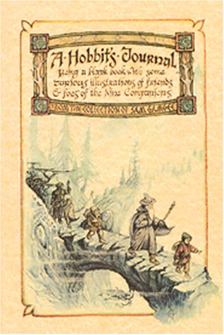 9780762409549: Hobbit's Journal: Being a Blank Book With Some Curious Illustrations of Friends and Foes of the Nine Companions