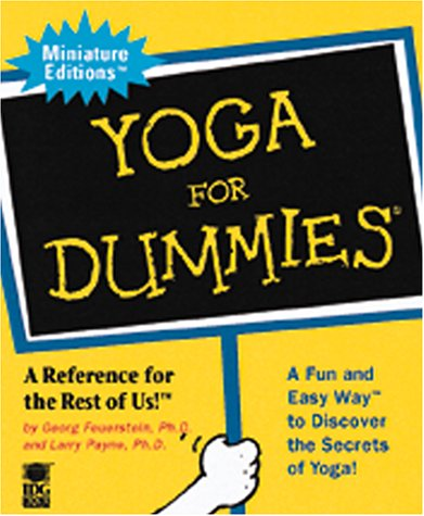 9780762409860: Yoga for Dummies (Miniature Editions for Dummies (Running Press))